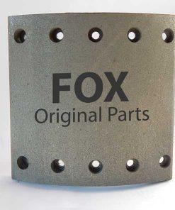 لنت ترمز کفشکی ترابوزا 18*8- FOX 19094