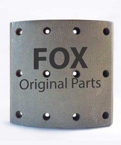 لنت ترمز کفشکی 19938جلو FOX- VOLVO FH12
