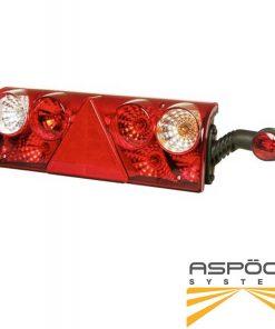 چراغ خطر عقب پرتکسدار راست ASPOCK EUROPOINT II