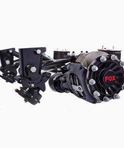 محور دیسکی 9 تن با فنر 10 سانتیمتری FOX
